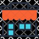 Building Commerce Market Icon