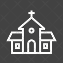 Building Church Pray Icon