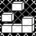 Building Blocks Block Icon
