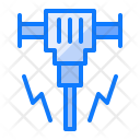 Building Construction Driller Icon