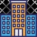 Hotel Building Hotel Building Icon