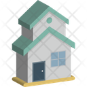 Building Lodge Cottage Icon