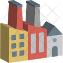 Factory Building Commercial Building Icon