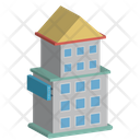 Building Lodge Cottage Icon