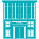 Building Flats Housing Icon