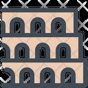 Building Colosseum Monument Icon