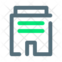 Building Office Work Icon