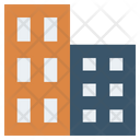 Buildings Bank Finance Icon
