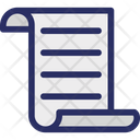 Agreement Paper Letter News Paper Icon