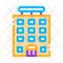 Tower Block Building Icon