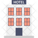 Building Five Star Hotel Hotel Icon