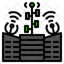 Connected Satellite Signal Icon