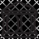 Building Bank Estate Icon