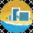 Building Hotel Inn Icon