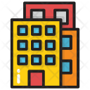 Flats Building Block Icon