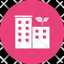 Building Eco Friendly Icon