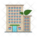 Building Eco Friendly Icon