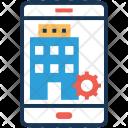 Building App Cogwheel Icon
