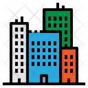 Building Cities Construction Icon