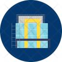 Building Frame Floor Icon