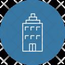 Building Hotel Service Icon