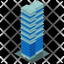 Skyscraper Office Building Icon