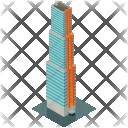 Office Skyscraper Building Icon