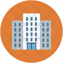 Building Bank Business Icon