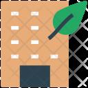 Building Eco Ecology Icon