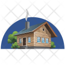 Building Cottage House Icon