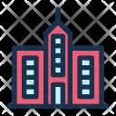 Skyscraper Tower Facility Icon