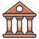 Science Archaeology Bank Icon