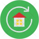Building House Refresh Icon