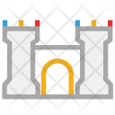 Building Castle Fortress Icon