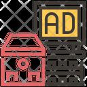 Building Board Advertise Icon