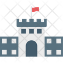 Court Building Historical Place Icon