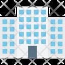 Building Flats Trade Center Icon