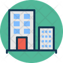 Building Hotel Trade Center Icon