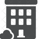 Apartment Construction Quarters Icon
