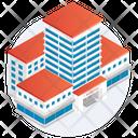 Building Hotel Villa Icon