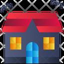 Building Fantasy Halloween Icon