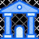 Building School Collage Icon