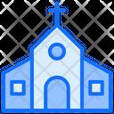 Building Church Christian Icon