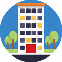 Building Apartment Home Icon