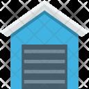 Building Farmhouse Storehouse Icon