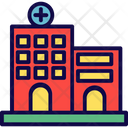 Building Health Clinic Hospital Icon