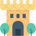 Building Castle Tower Icon
