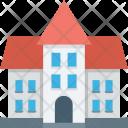 Building Farmhouse Home Icon