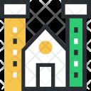 Building Islamic Mosque Icon
