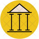 Building Columns Pantheon Icon